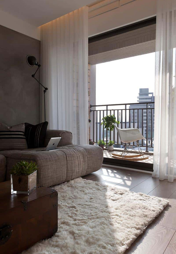 Ideas para decorar con alfombras Shag en casa
