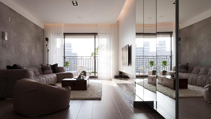Cómo decorar salones con una alfombra blanca