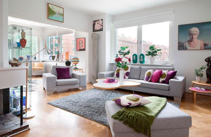 14 ideas para decorar con alfombras el sal n y los dormitorios - Decorar con alfombras ...