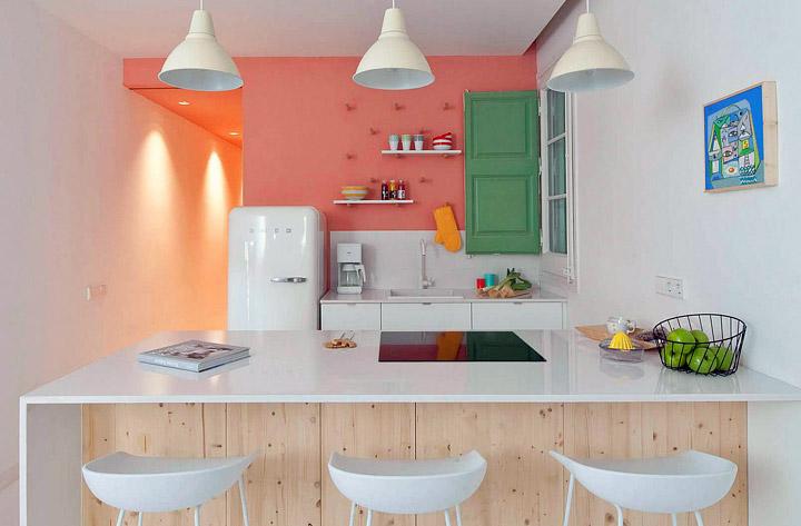 Reforma de una cocina abierta