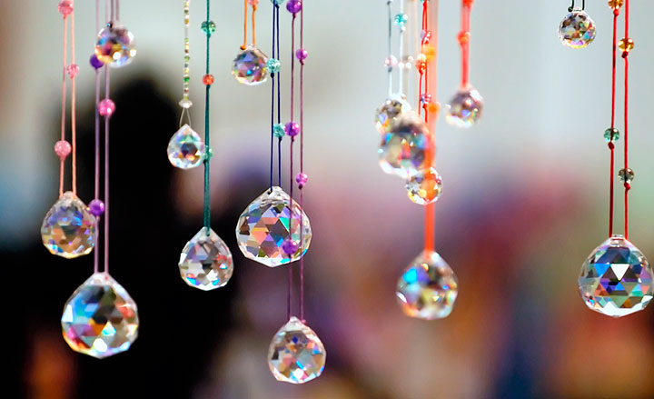 Bolas de cristal Feng Shui cuarzo
