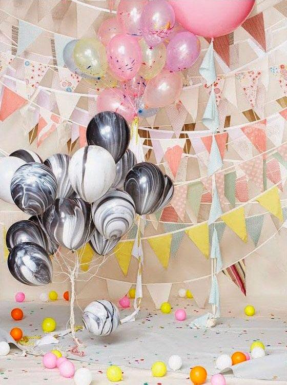 Decoración con globos en fiestas