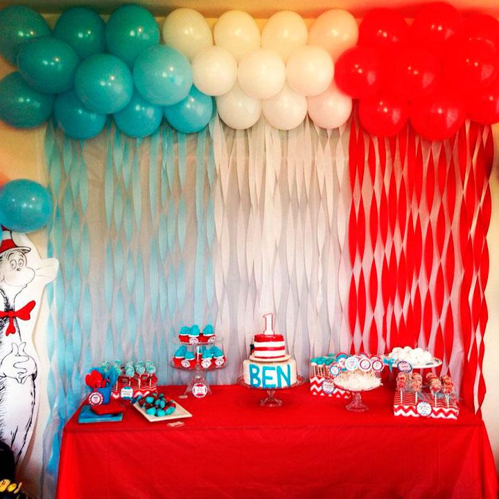 Cómo decorar con globos una fiesta de cumpleaños infantil