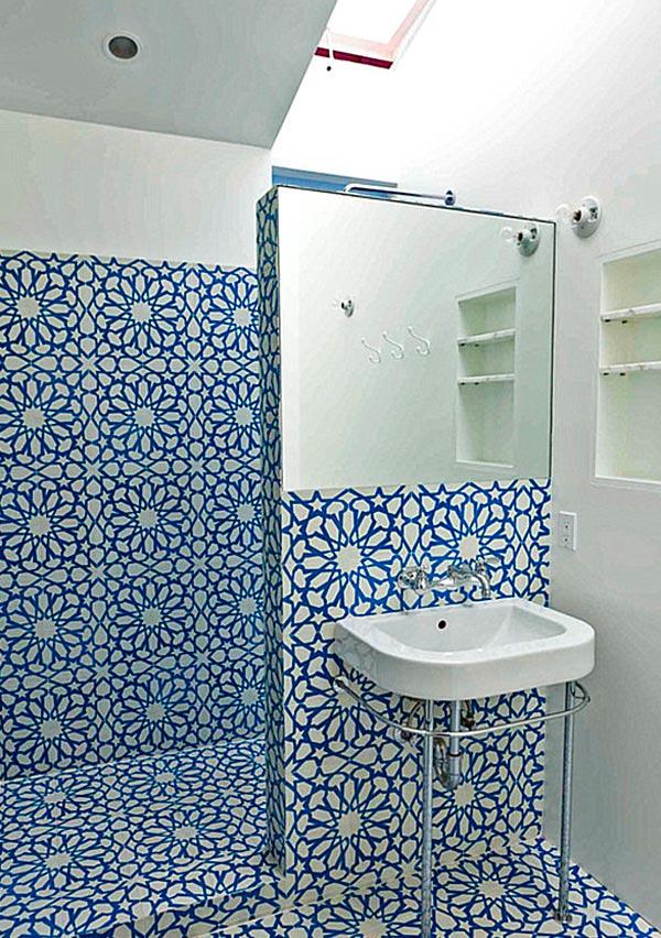 Cuartos de baño pequeños con ducha originales