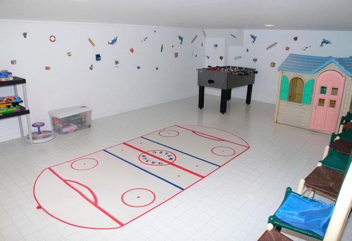Convertir un sótano en sala de juegos