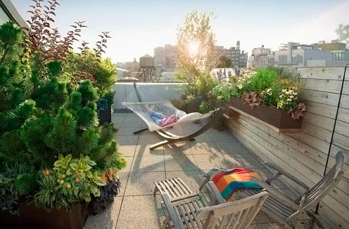 Diseño de jardines en balcones y terrazas