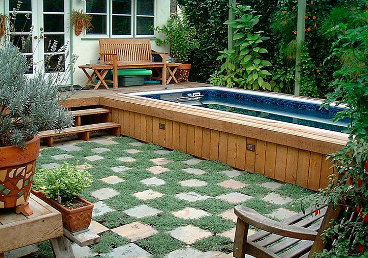 Piscinas peque as para patio y jard n 15 ideas incre bles for Como construir una piscina pequena