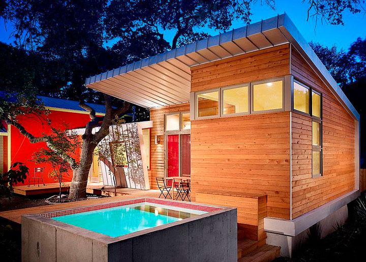 Piscinas peque as para patio y jard n 15 ideas incre bles decorar hogar - Decoracion piscinas pequenas ...