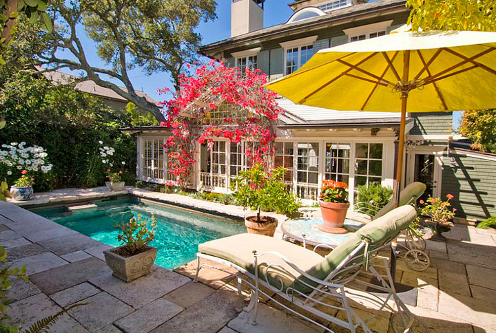 Ideas de piscinas pequeñas para el patio y jardín