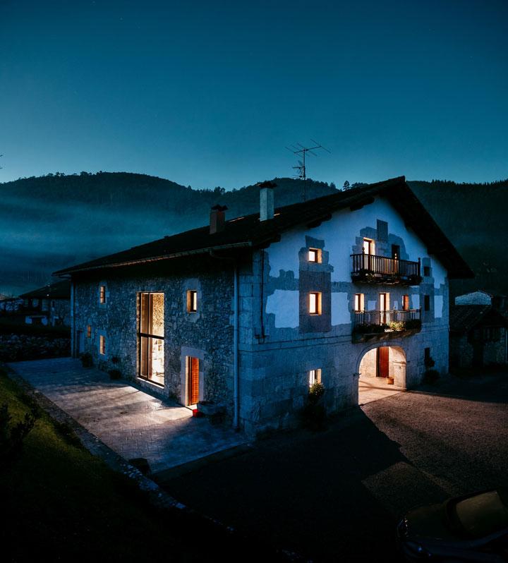 Restauración de una casa vasca de 150 años en Gernika