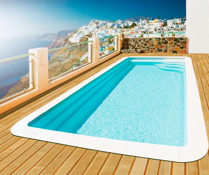 Instalacion de piscinas prefabricadas de poliester