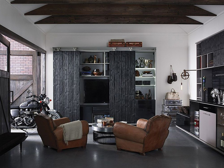 Transformar el garaje en una sala de estar y de juegos