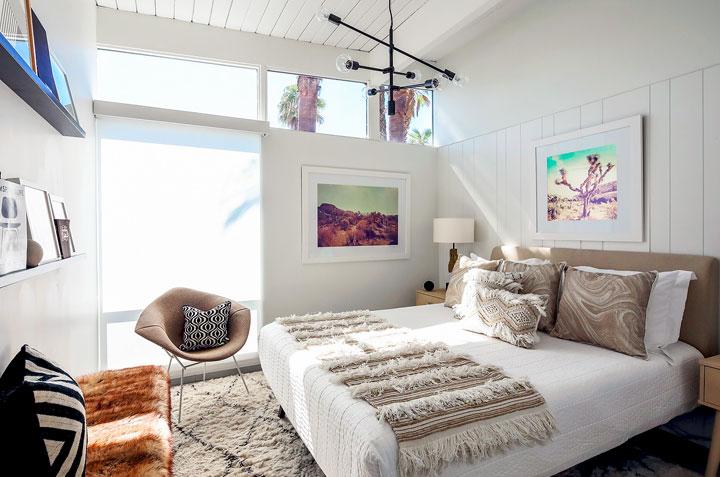 Dormitorios con decoración ecléctica moderna