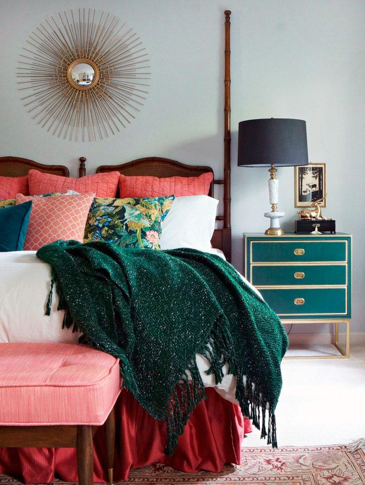 Dormitorios eclécticos estilo bohemio