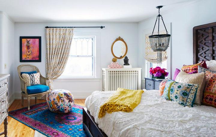 Dormitorios Eclécticos: Las 7 Claves de los Decoradores en 2019