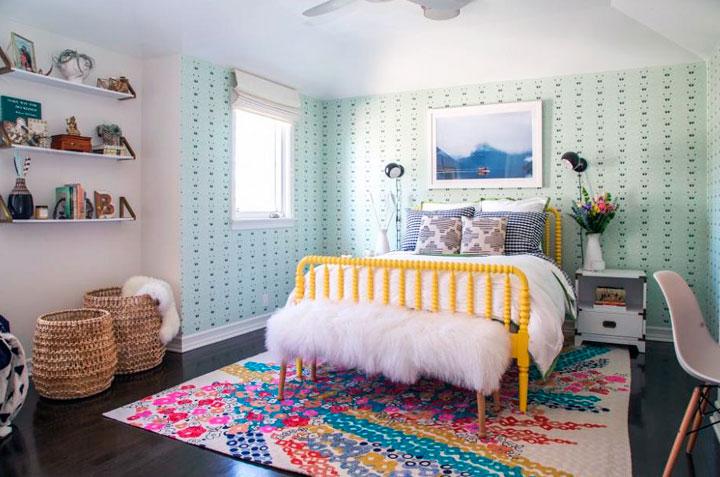Dormitorios eclécticos minimalistas modernos
