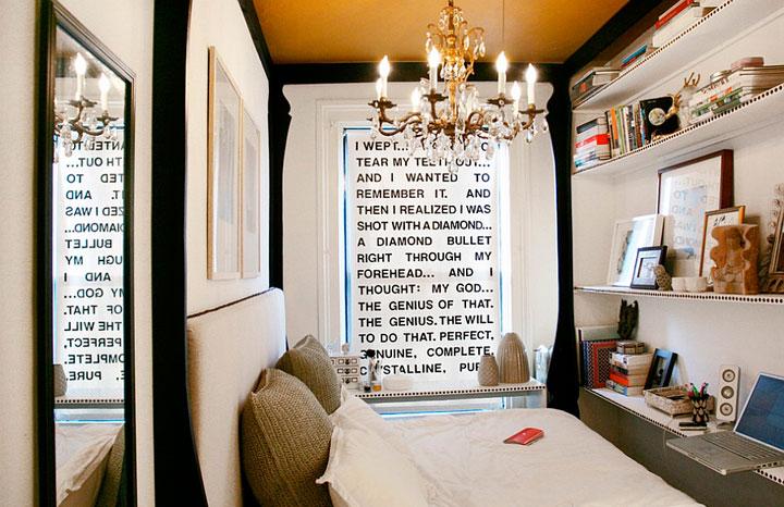 Dormitorios eclécticos vintage retro