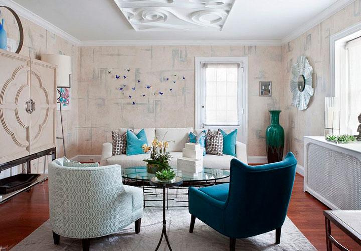 mezclar estilos en salones eclécticos vintage
