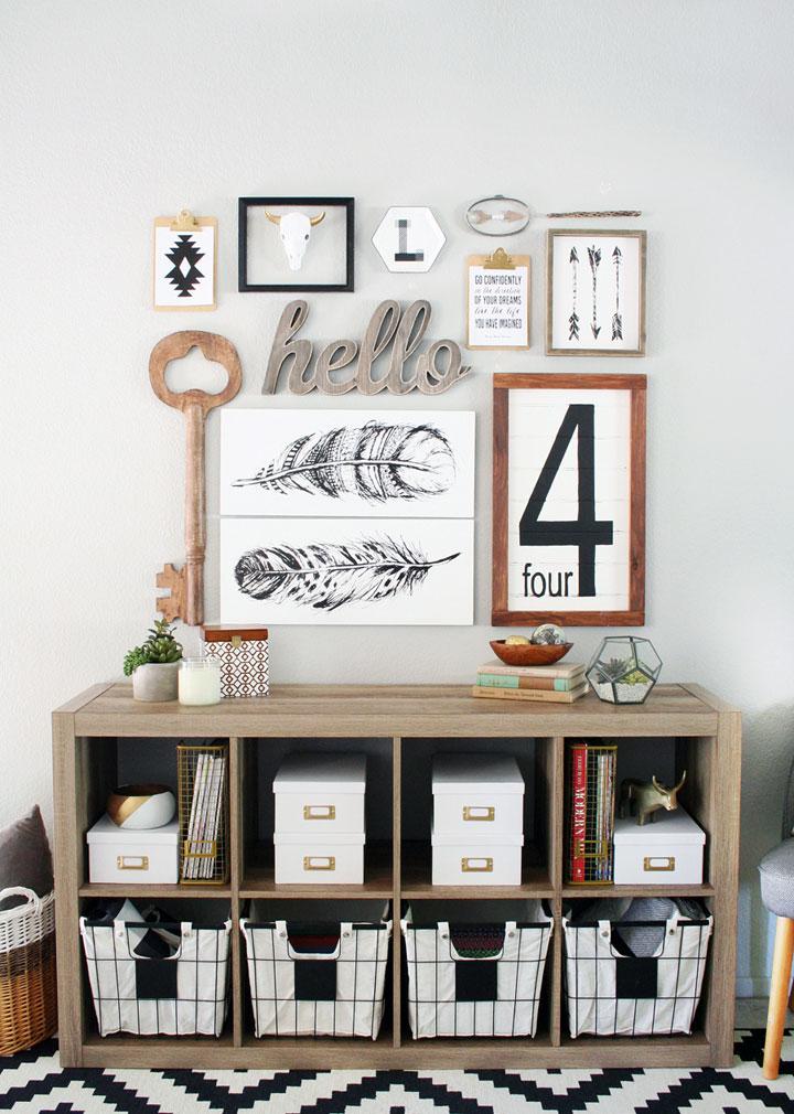 Recibidor de decoración ecléctica ideas