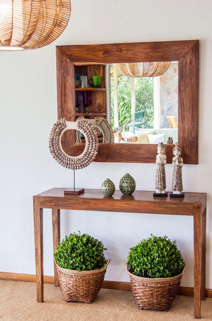 Recibidores eclécticos de estilo clásico con plantas