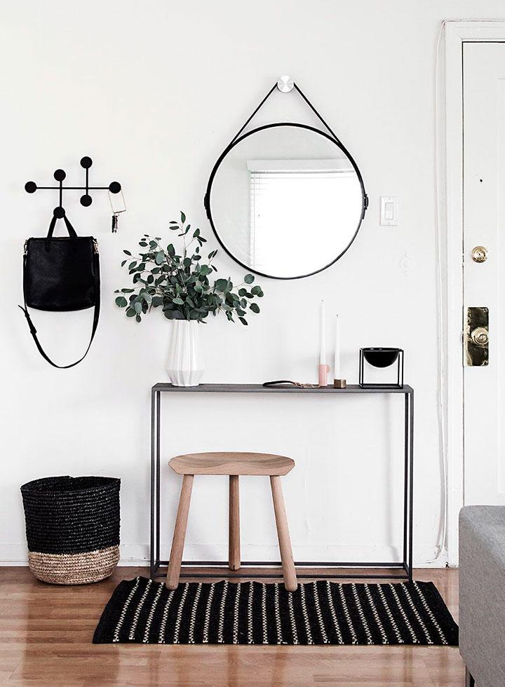 Recibidores eclécticos modernos minimalistas