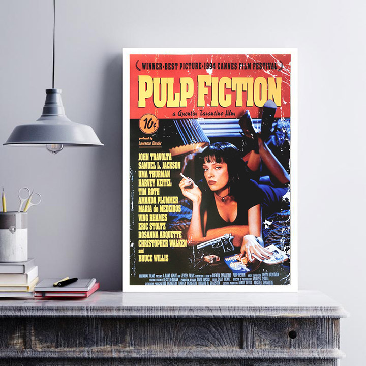 Cómo decorar con carteles de películas antiguas