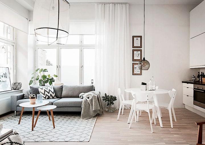 Trucos de iluminación para habitaciones pequeñas parezcan grandes