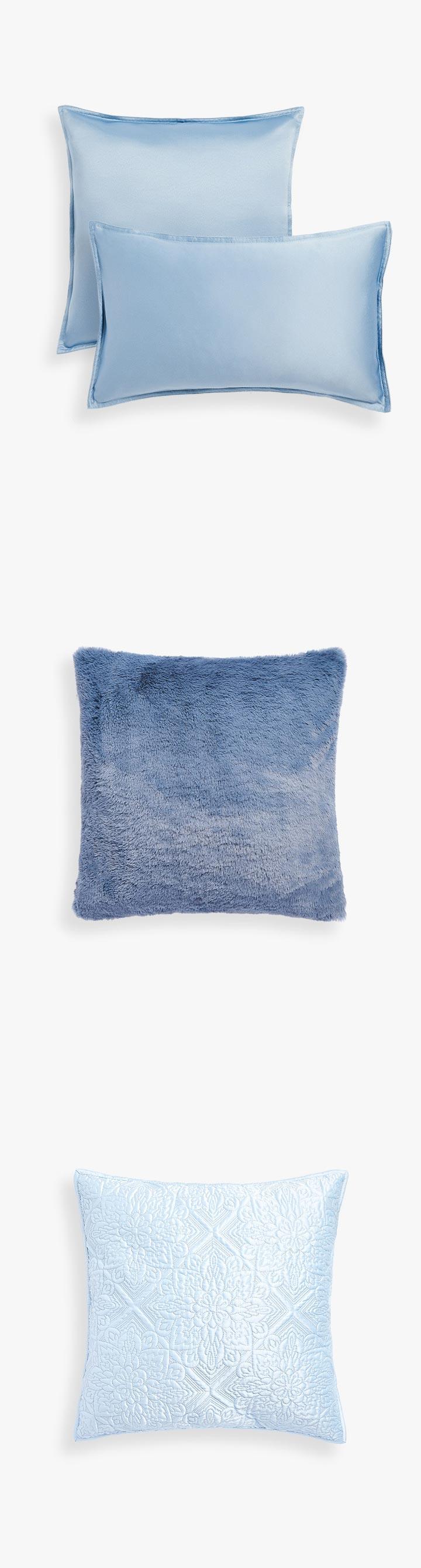 Cojines Azules Zara Home para comprar
