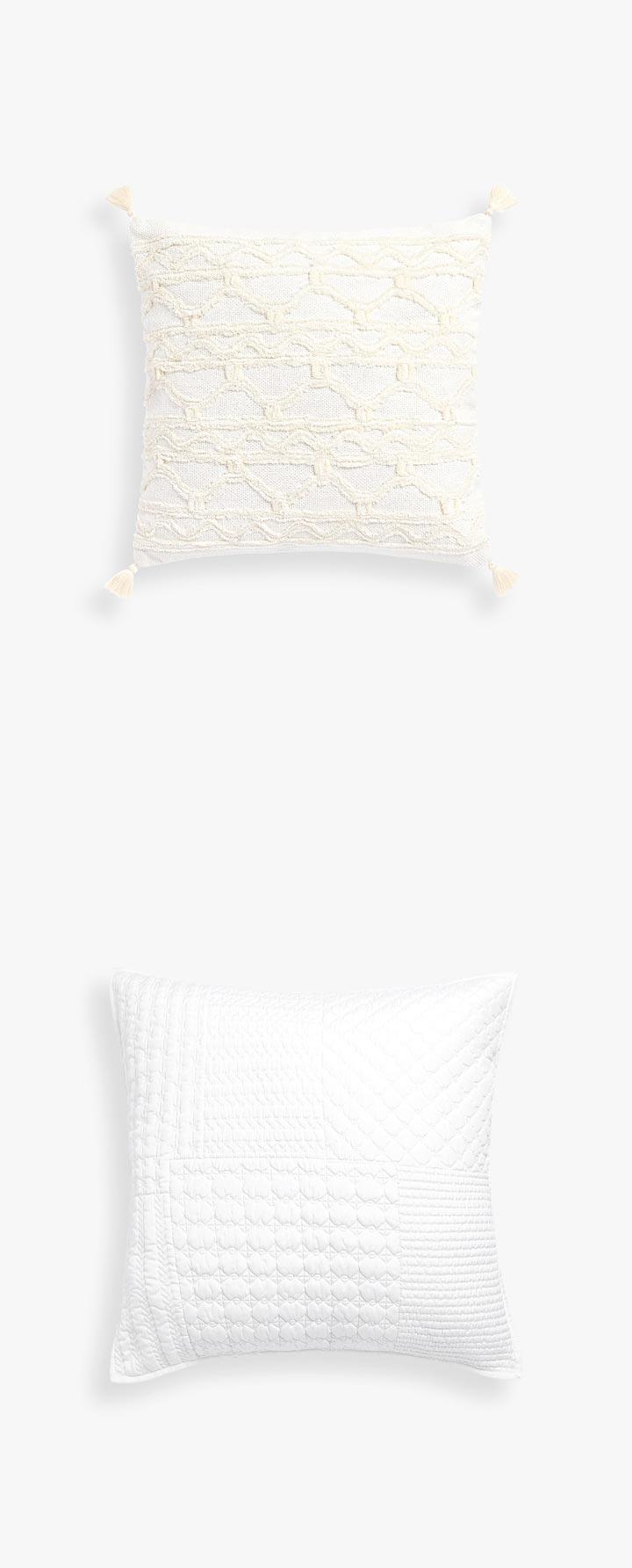 Cojines de ganchillo Zara Home para sofás