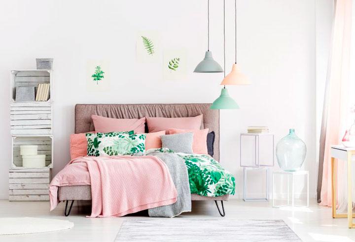 Colores que combinan con el verde y el rosa