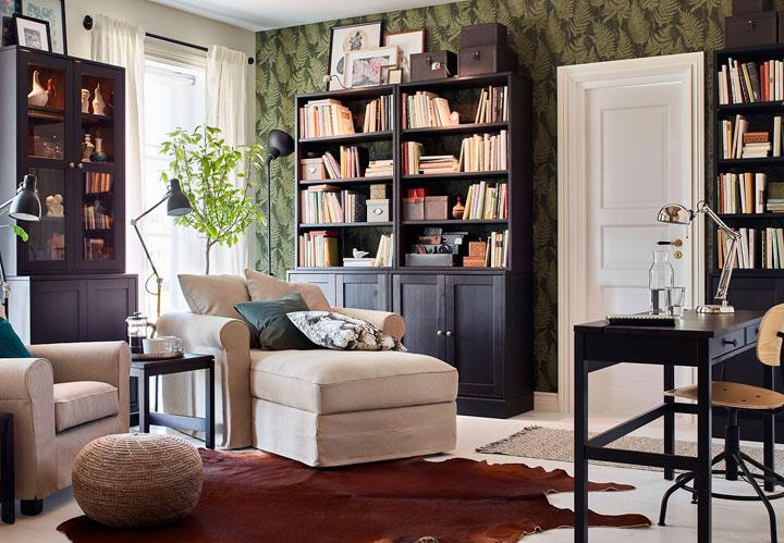 Colores que combinan con el marrón y verde en decoración