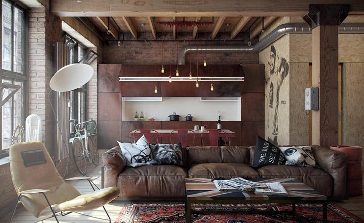 Elegir sofá de cuero de piel auténtica