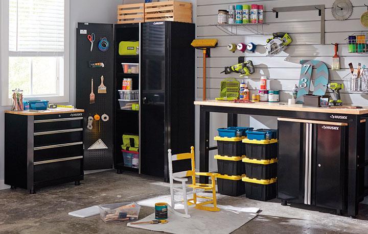 Ideas de almacenamiento de herramients en el garaje