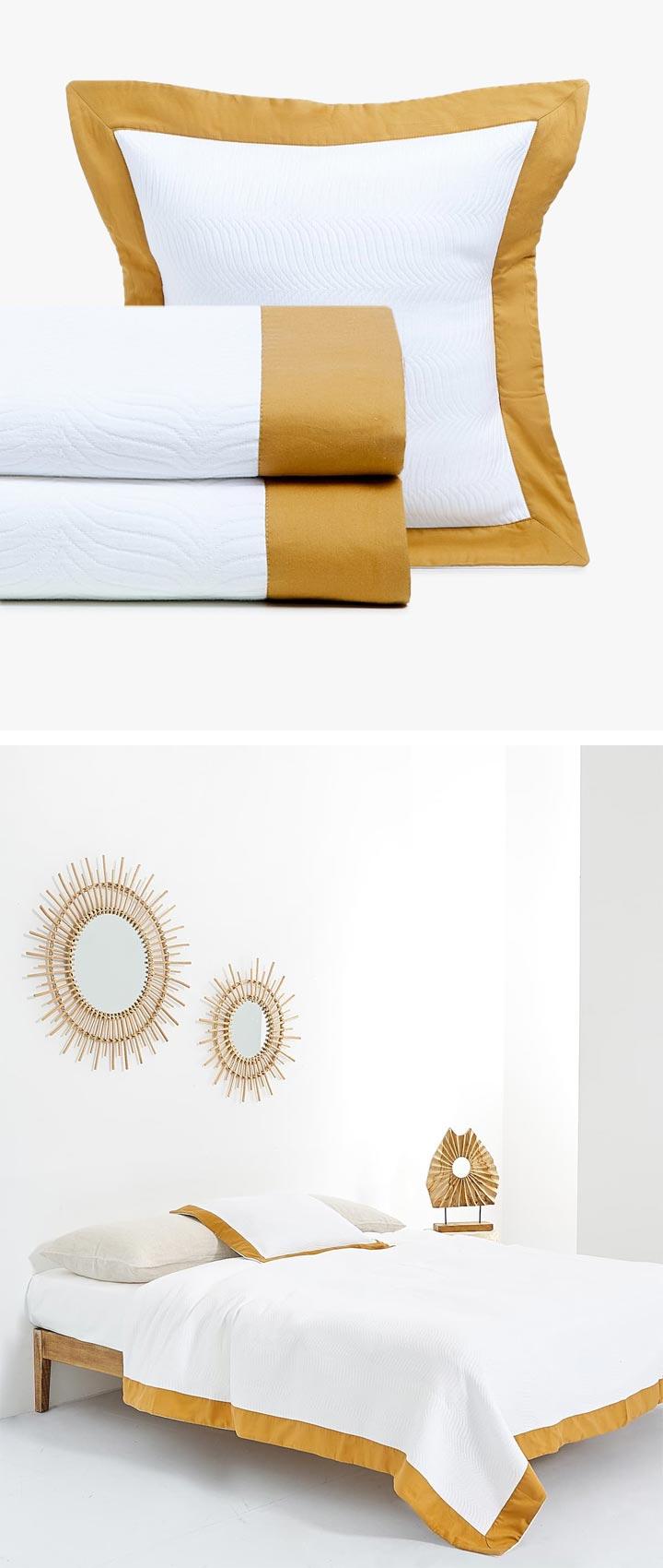 Zara Home colchas de algodón estampadas