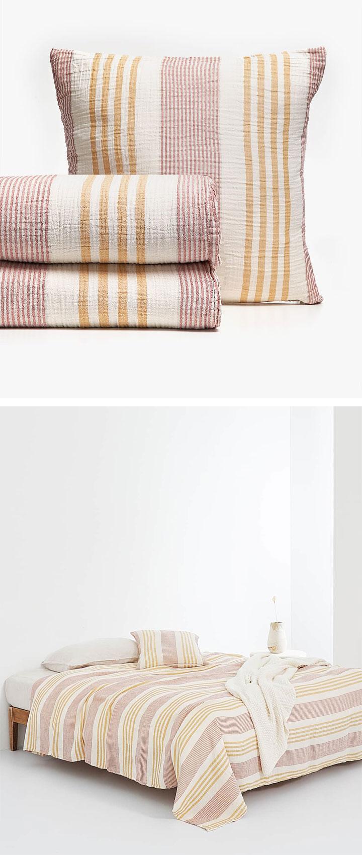 Mejores colchas Zara Home en rebajas