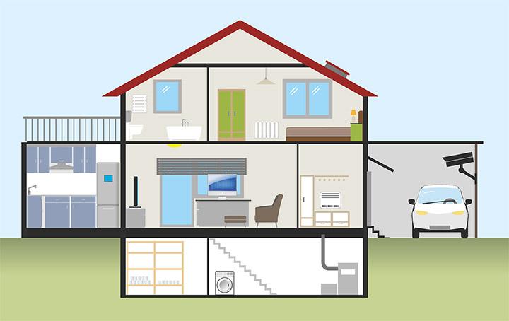 Sitios donde colocar un depósito de gasoil en casa