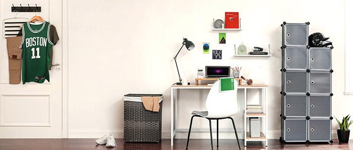 Muebles Songmics para un dormitorio juvenil