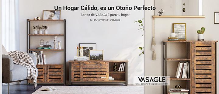 Sorteo de Songmics muebles colección Vasagle