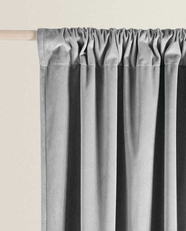 Cortinas para habitaciones colección Zara Home