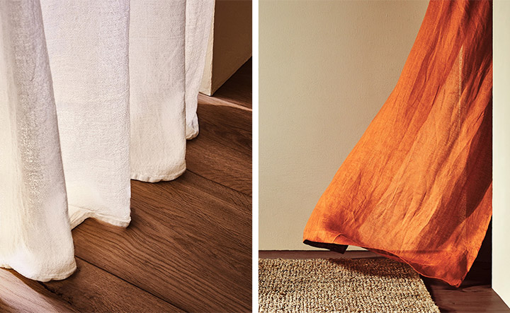 Cortinas Zara Home para cada estancia de la casa