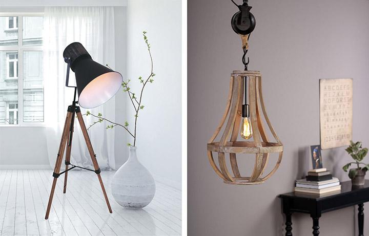 Lo que tienes que saber para elegir una lámpara de madera
