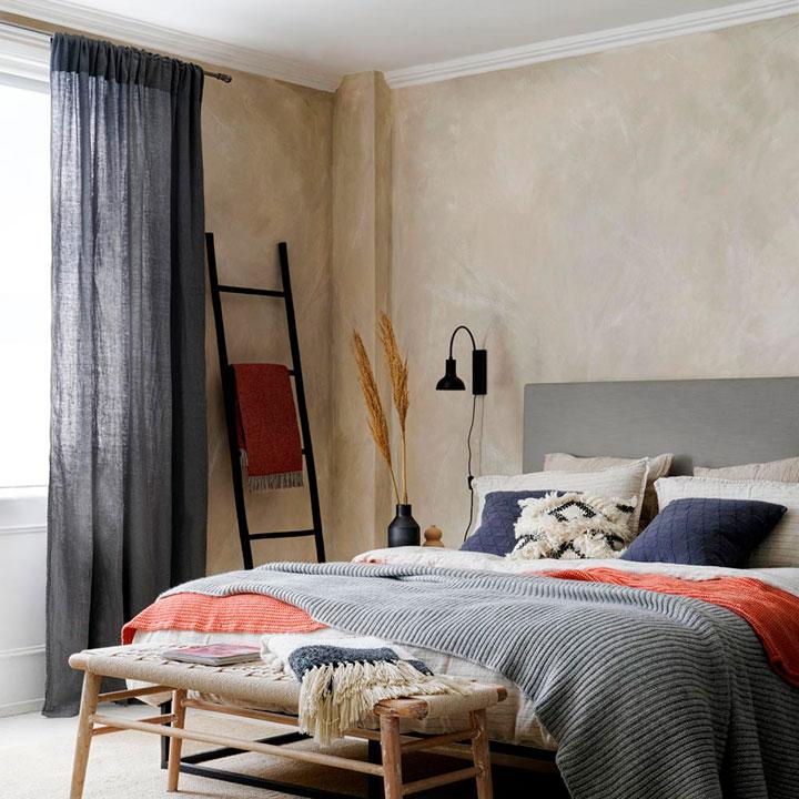 Ideas para renovar las cortinas del dormitorio