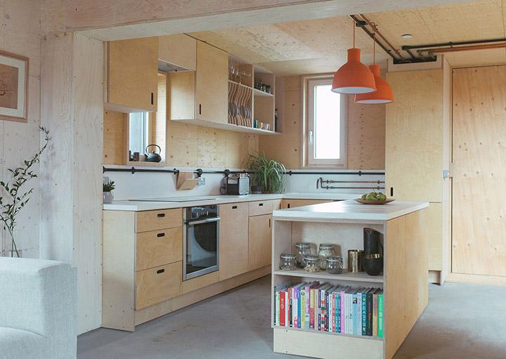 Tirar la pared de la cocina para unirla al comedor