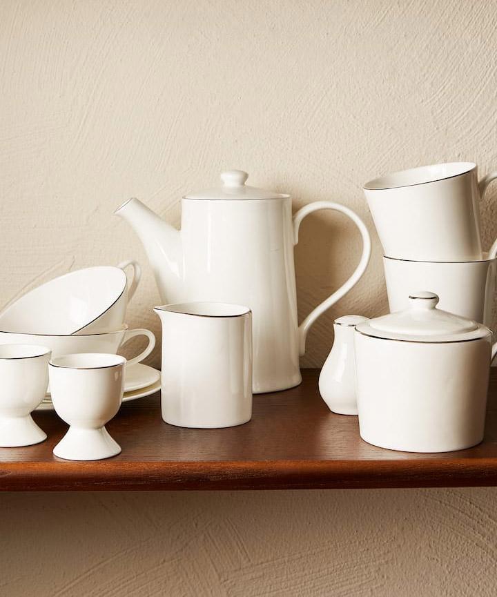 Vajillas desayuno Zara Home de porcelana