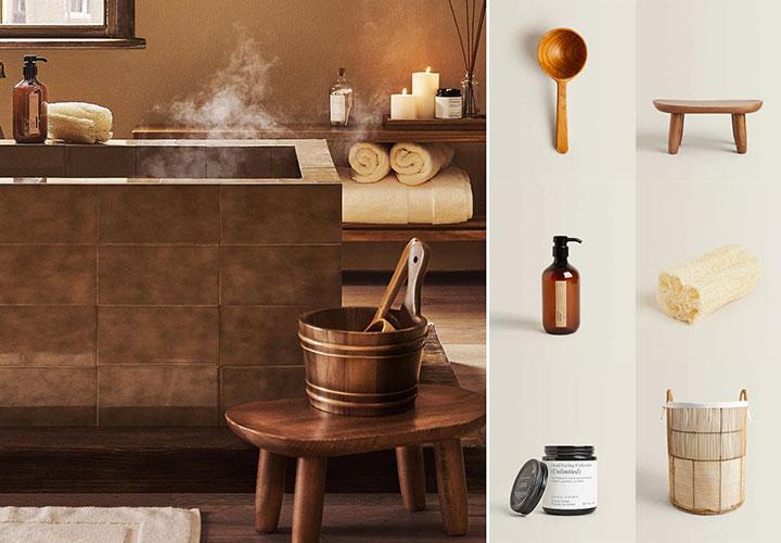 Catálogo Zara Home Baño SPA Collection