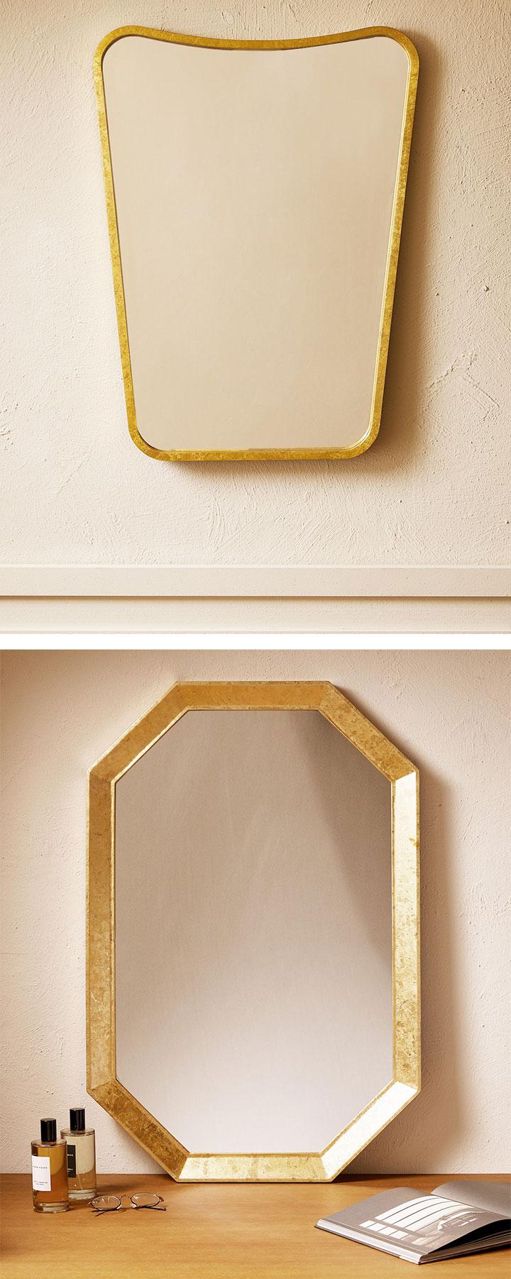 Espejos dorados Zara Home