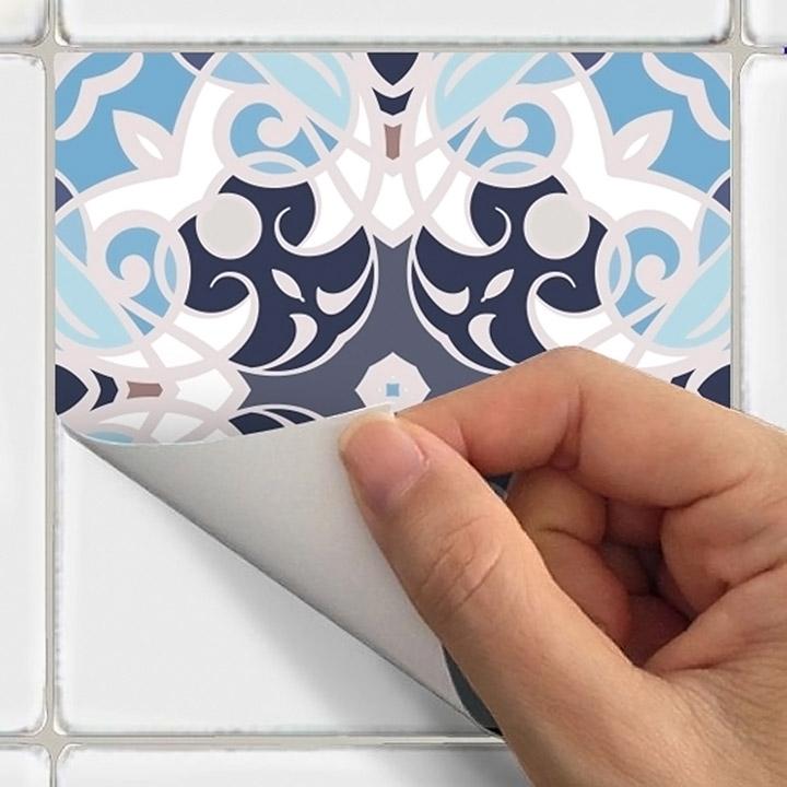 Vinilos adhesivos para los azulejos de la pared de la cocina
