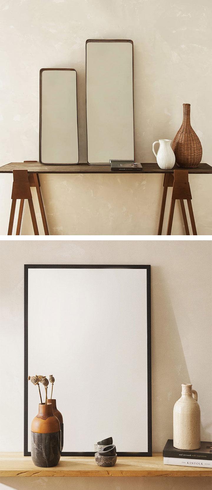 Zara Home espejos nuevas tendencias