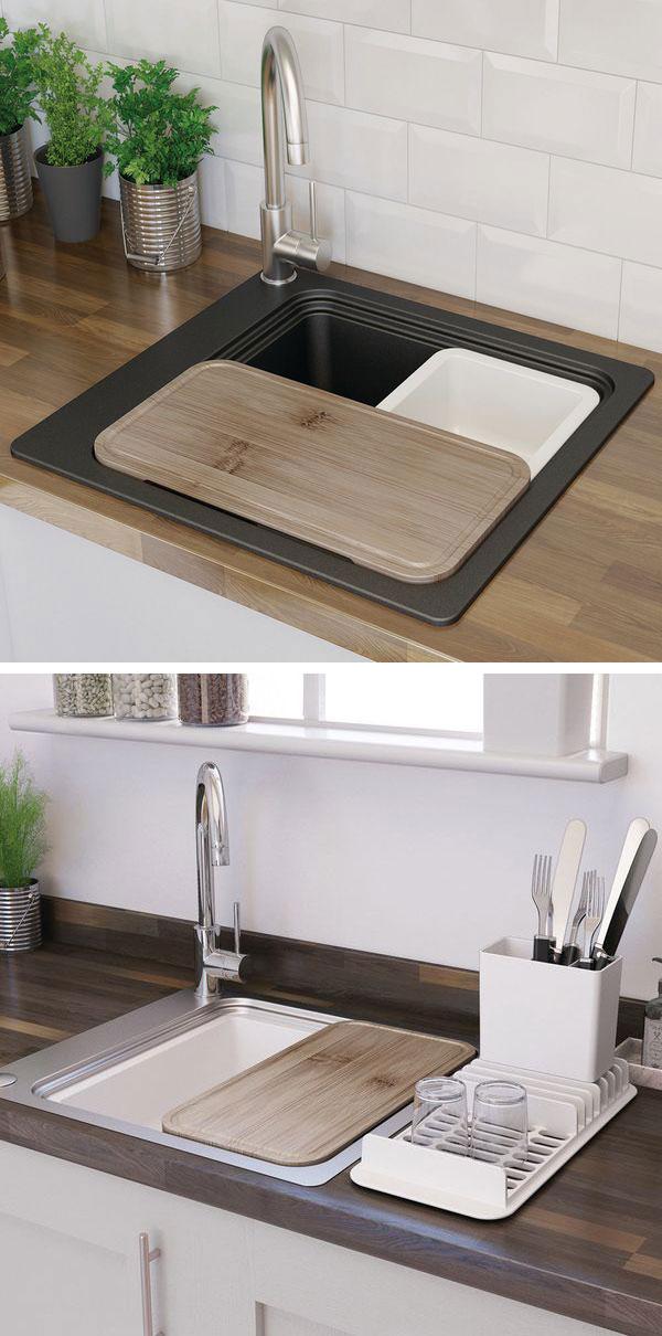 Catálogo cocina Bricodepot fregaderos