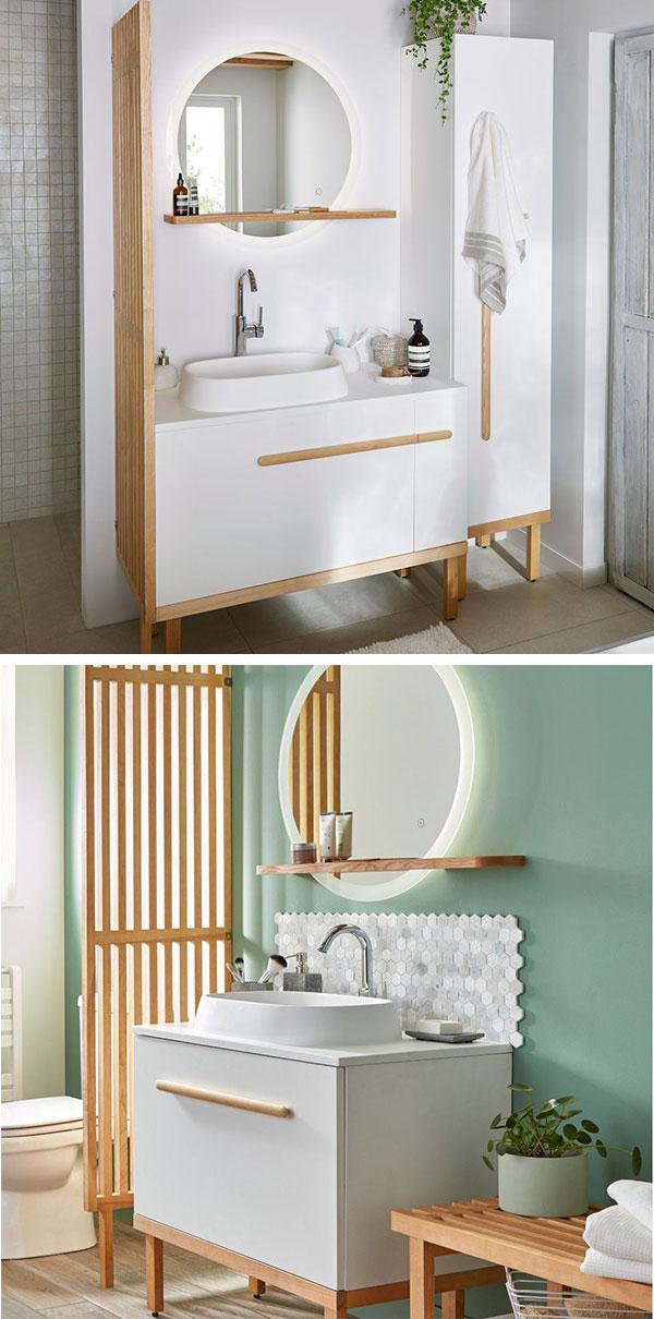 Catálogo de muebles de baño Bricodepot